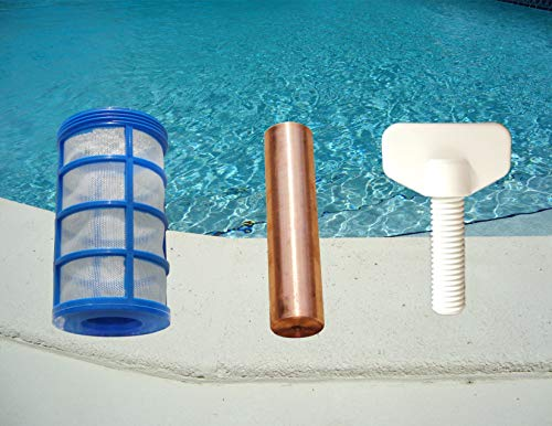 Solar pool Cleaner Electrode anode ionizer replacement element