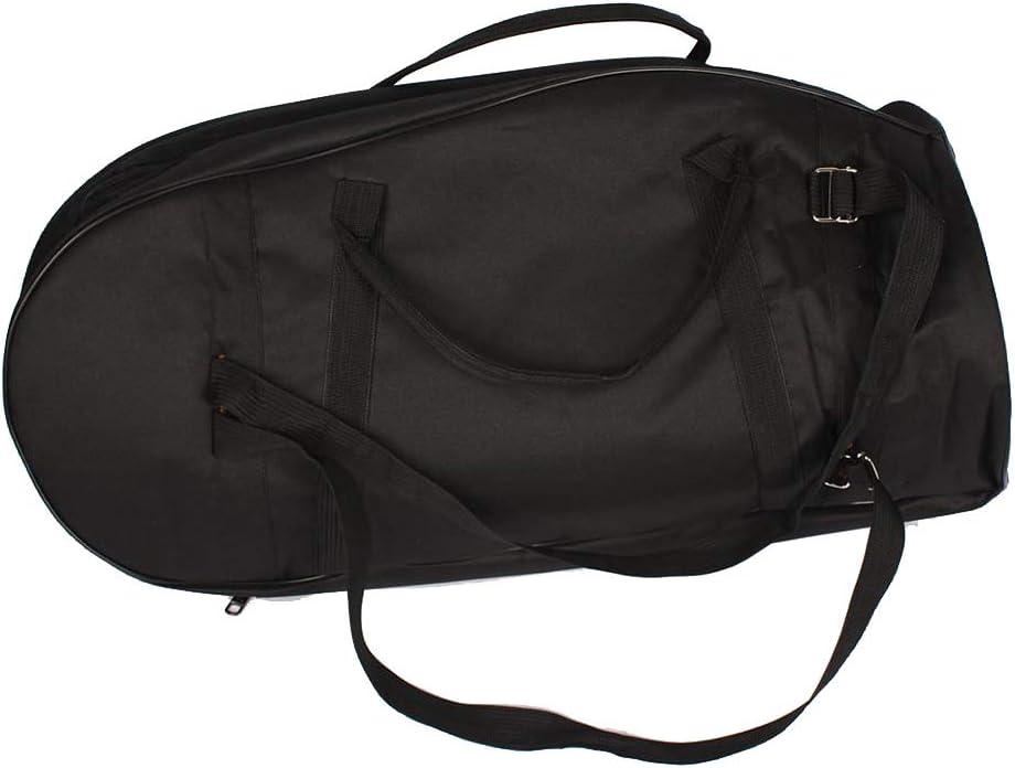 Bolsa de barítono de tela de abrasión de alta calidad, ligera, transpirable, accesorios de instrumentos de latón