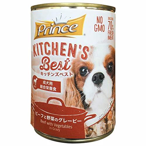 生活 雑貨 ペット用品関連 成犬用総合栄養食ドッグフード ビーフと野菜のグレービー 415×24缶