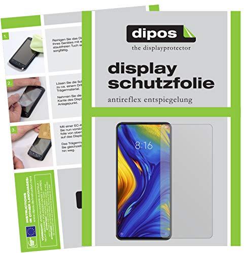 dipos I 6X Schutzfolie matt kompatibel mit Xiaomi Mi Mix 3 Folie Bildschirmschutzfolie