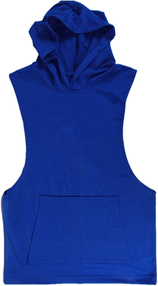 Challenge the lowest price Chen Mens Sexy Al sold out. Sleeveless Hoodie T-Shirt Tank Top Sports Hooded