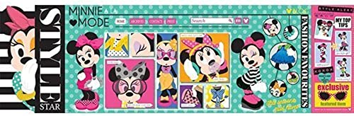 Disney Panoramas Mega Puzzle - Minnie Mouse Style Blogger by Mega Puzzles