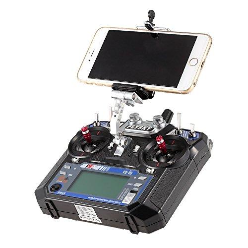 Goolsky FlySky FS-i6 i6S用 電話 ホルダー クリップ ブラケット マウント サポート 携帯ホルダー FlySky FS-i6 i6Sリモートコントローラー 2.4G RCトランスミッター用