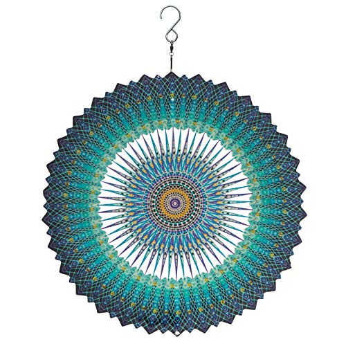 Spin Art Premium Mandala Space Multicolor Wind Spinner (30,5 cm)