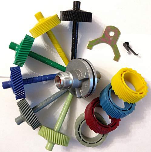 LA Speedometer Gear 700r4 and BOP TH350 retainer, clip, 40-45 tooth driven gears, 15/17/18 and 19 tooth drive gears, and 2