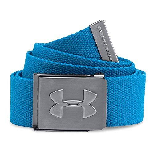 Under Armour Golf Men's Webbed Belt (Brilliant Blue)