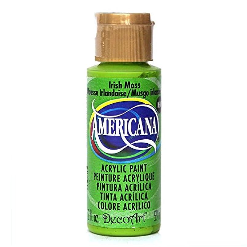 DecoArt Americana Acrylics Paint, 2-Ounce, Irish Moss (DA312-3) nyysjtsd633924