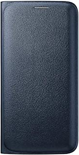 Samsung Leather Wallet Flip Case for Galaxy S6 Edge - Blue