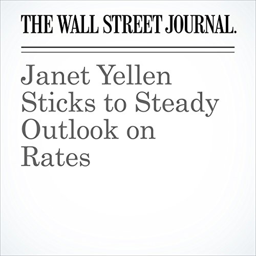 Janet Yellen Sticks to Steady Outlook on Rates copertina