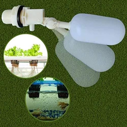 Nobran 3/4-Schwimmer-Kugelhahn, automatisches Befüllen von Wasser, Luftbefeuchter, Teichabsperrung, Kunststoff, Hydrokultur-Schwimmerventil