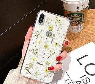 154 専用携帯ケース 押し花 小さめ おしばな 花柄 2色 フラワー 本物の花 ドライフラワー ハンドメイド 手作り ラメラメ グリッター 透明 クリア 素敵 カワイ お洒落 レディース 女子 大人 側面保護 人気 ケース アイフォン ケース スマホケース 携帯カバー スマートフォン アイフォンカバー ソフトケース IPhone xs max, IPhone xr, IPhone x/