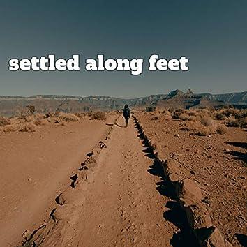 Settled Along Feet