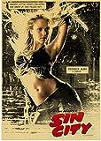 SHENGZI Leinwand Poster Sin City Poster Retro Poster