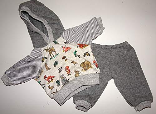 maderegger Pyjama für Puppe Größe 40-45 cm handmade