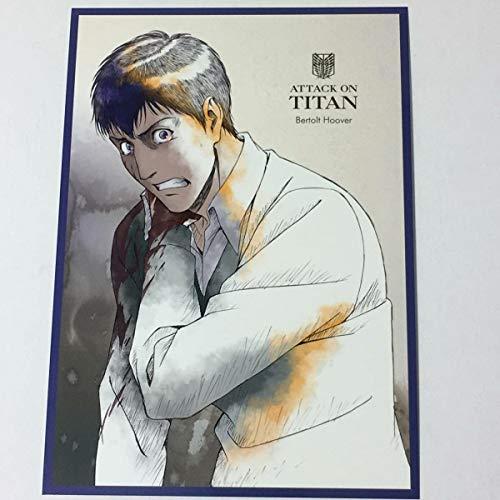 進撃の巨人 ベルトルト Bertolt WIT STUDIO ポストカード IGストア 限定グッズPOST CARD 原画 attack on titan rare