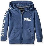Osh Kosh Boys' Toddler Full Zip Logo Hoodie, Liberty Blue, 5T