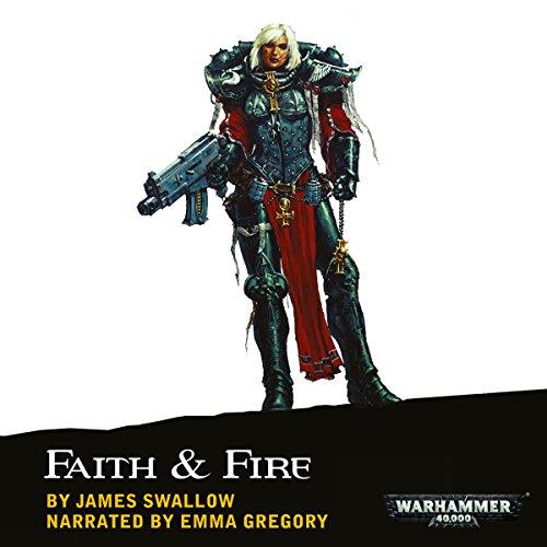 Faith & Fire audiobook cover art