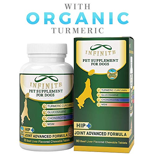 Infinite Pet Supplements' All-Natural Hip & Joint Supplement