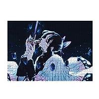 鬼滅の刃 パズル ジグソーパズル おしゃれ 減圧 纸製のパズル 贈り物 グッズ プレゼント 禰豆子 富岡義勇 炭治郎 善逸 伊之助500ピ