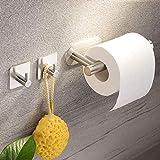 Deprik Portarrollos Baño Adhesivo - Portarrollo para Papel Higienico con...