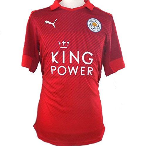Leicester City FC - Camiseta oficial de visitante 2016-2017 (adulto para hombre pequeño)