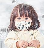 GREENNOSE マスク 小さめ 使い捨て 子供 用 ベビー 不織布 立体 可愛い 柄 飛沫防止 VFE PEF 花粉 三層 耳が痛くならない 呼吸しやすい お出かけ安心 (王子様 1-3歳 5枚*3袋)