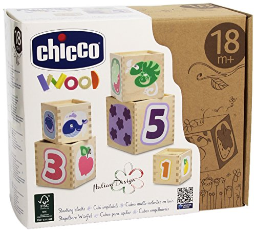 Chicco Cubes Multi Activités En Bois