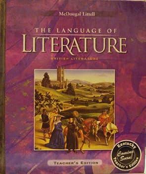 McDougal Littell, The Language of Literature: British Literature - Teacher's Edition (Purple) 0618601481 Book Cover