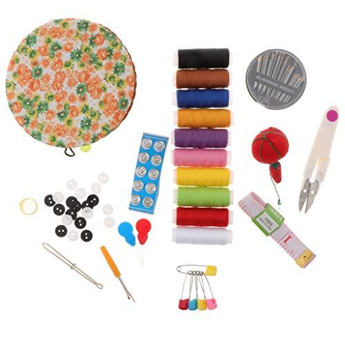 kowaku Kit de Costura con Kit de Hilo Y de Cesta Redonda - Costura