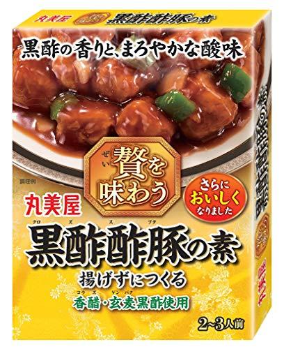 丸美屋食品工業 贅を味わう黒酢酢豚の素 140g ×5個