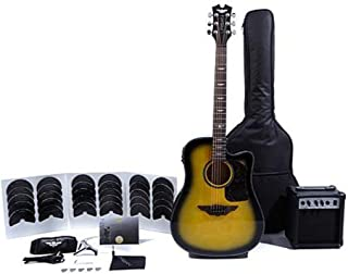 Keith Urban Acoustic-Electric Ripcord 40-piece Guitar Package (Right Handed) - Brazilian Burst