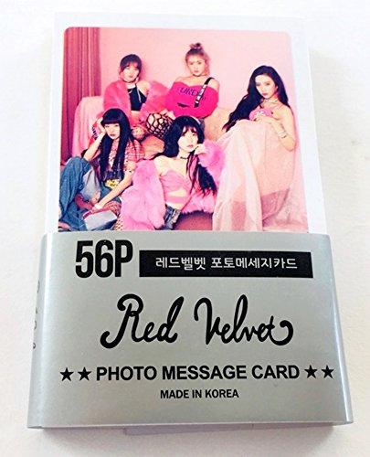 Star House RED Velvet - Mini Postcard PHOTOCARD Set 56pcs