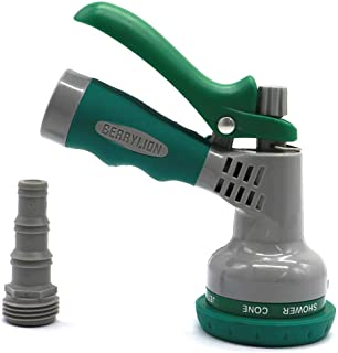 FitHom Garden Water Hose Nozzle Sprayer, High-Pressure Water Hose Sprayer Gun, for Garden and Lawn Watering, Car Wash, Cle...
