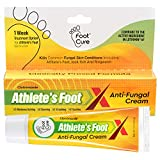 Foot Cure Athlete's Foot Cream - Made in USA - Treats Fungal Infections, Itchy Feet, Ringworm, Jock Itch and Dry Crack Heals - Best Anti Fungal Treatment