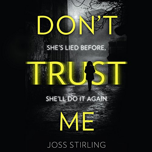 Don't Trust Me audiobook cover art