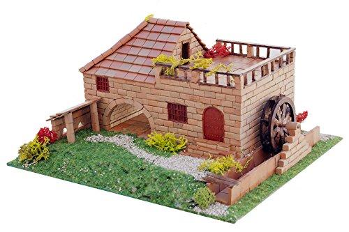 Keranova 30212 Populaire Moulin à Eau 1000 pièces Modèle Maison Multicolore 20 x 15,5 x 12 cm