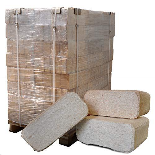 Naturbrennstoffe Kretschmann OHG Holzbriketts Mischholz-Briketts: 960 kg Palette (96 Pakete x 10 kg) | mit deutschlandweiter Lieferung