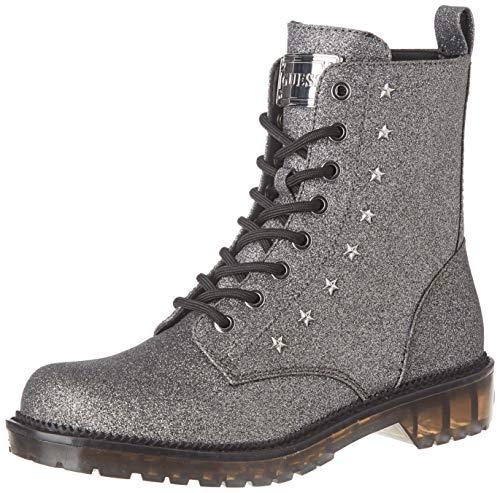 Guess Damen I-Tavora2-Eu Combat Boots, Schwarz (Black Black), 40 EU