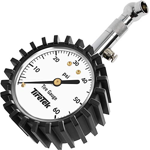 Our #5 Pick is the TireTek Premium Car Tire Pressure Gauge