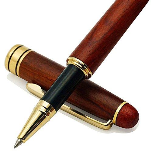 IDEAPOOL Genuine Rosewood Ballpoint Pen Writing Set