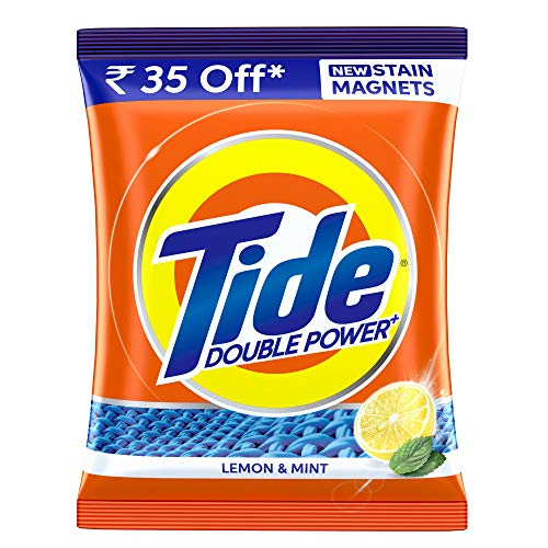 Tide Plus Extra Power Detergent Washing Powder - 2 kg (Lemon and...