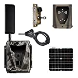 Spartan Ghost Verizon 4G LTE GC-W4Gb Blackout IR Infrared Hunting Trail Camera Deluxe Package