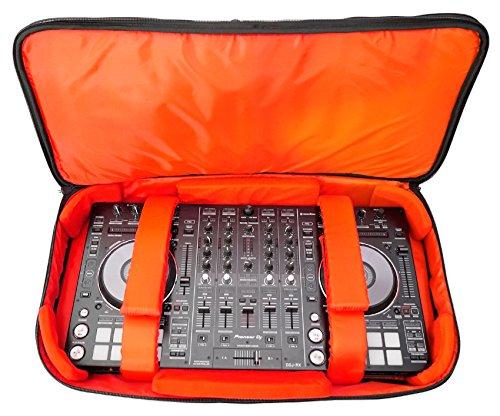 Rockville RDJB20 DJ-Controller-Tasche für Mixdeck & Quad N4 NS6 DDJ-SX MC7000 + mehr