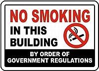 喫煙禁止 金属板ブリキ看板警告サイン注意サイン表示パネル情報サイン金属安全サイン