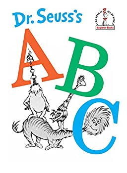Hardcover Dr. Seuss's ABC  (Beginner Books, I Can Read It All By Myself) Book