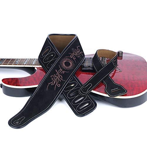 Correa de Guitarra Vintage Guitarra Mate Correa de Cuero Retro 3