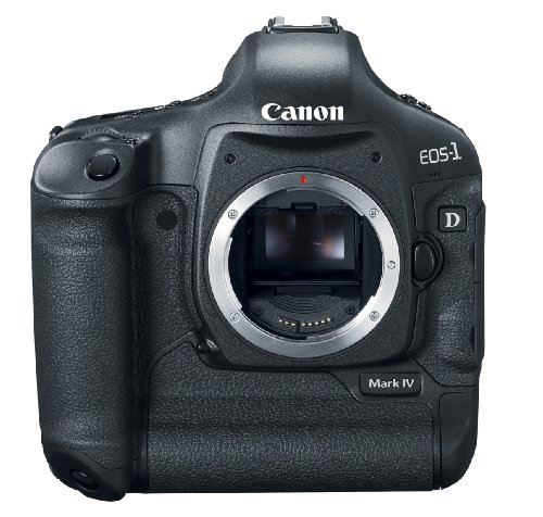 Canon EOS EOS-1D Mark IV - Cámara Digital (16,1 MP, SLR Camera Body, CMOS, 0X, 0X,...