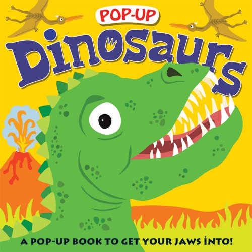 Pop-up Dinosaurs: A Pop-Up Book to Get Your Jaws Into (Priddy Pop-Up)