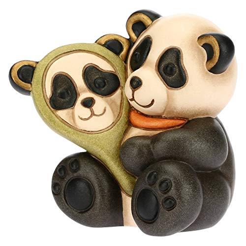 THUN - Panda Gemini - Linea Oroscopo - Formato Piccolo - Ceramica - 7,5x7,5x7,5 h cm