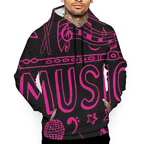 1Zlr2a0IG Musik-Gitarren-T-Shirt mit Kapuze mit einem Taschen-Seil-Hut Kundenbezogenheit Mode-Neuheit 3D Männer